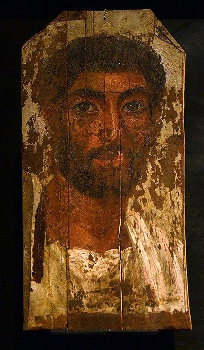 Malen lernen - Enkaustik - antike Wachsmalerei - Mann