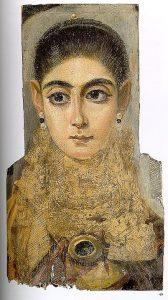 Malen lernen - Enkaustik - antike Wachsmalerei - junge Frau