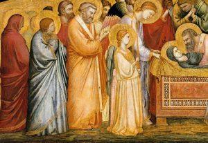 Malen lernen - Mittelalter - Giotto lebendige Engel