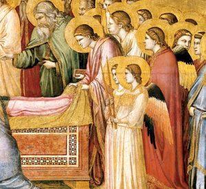 Malen lernen - Mittelalter - Giotto - allzu menschliche Engel