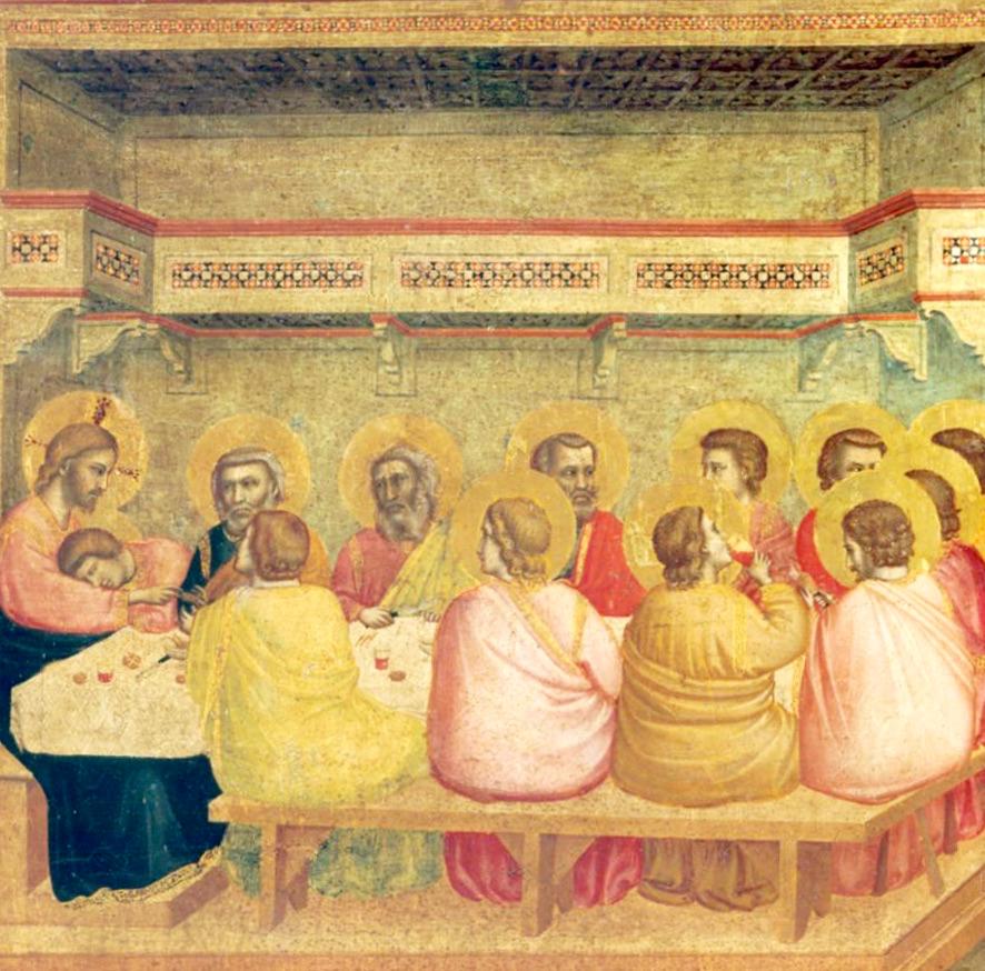 Malen lernen - Giotto Mittelalter - Raum durch Perspektive