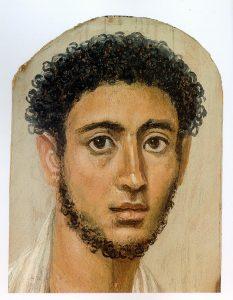 Malen lernen - Enkaustik - antike Wachsmalerei - junger Mann
