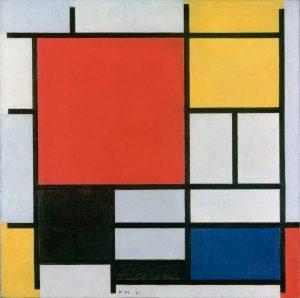 Abstrakte Malerei, Geometrie und Farben, Farben-Liebe, Malen lernen, Primärkontrast